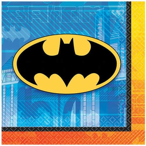 Batman Beverage Napkins -16 Count