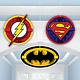 Justice League Honeycomb Balls