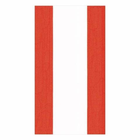 Bandol Stripe Paper Guest Towel Napkins in Red - 15 Per Package