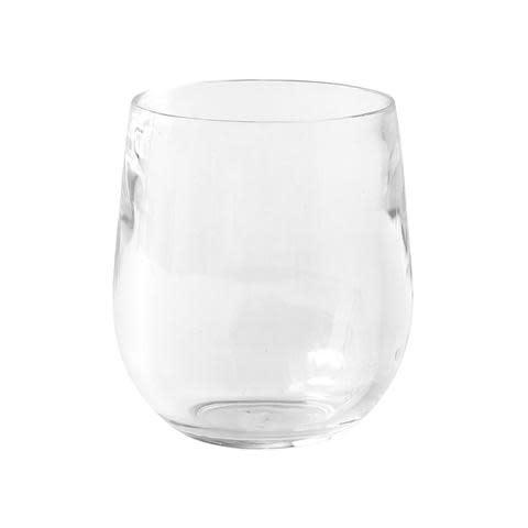 Acrylic 12oz Tumbler Glass in Crystal Clear