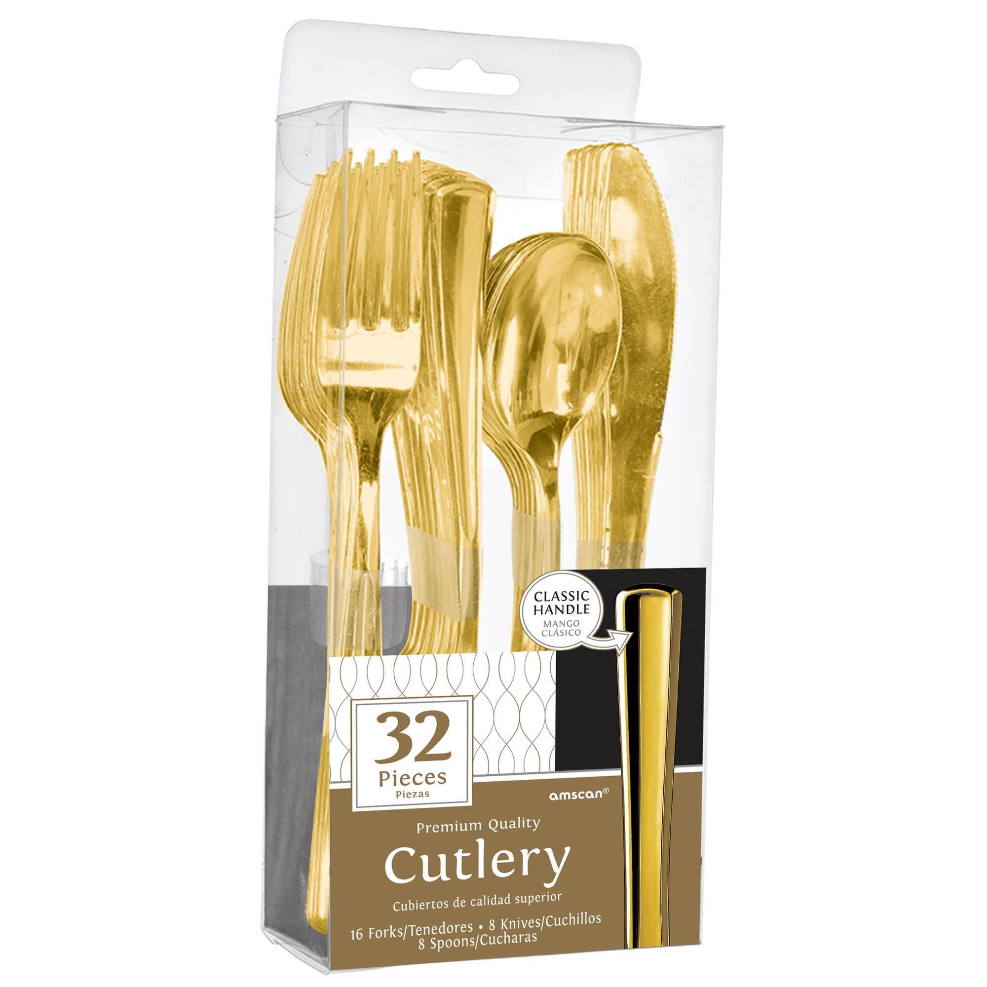Premium Cutlery Asst. - Gold