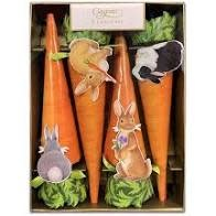 Bunnies and Carrots Party Crackers - 8 Per Package