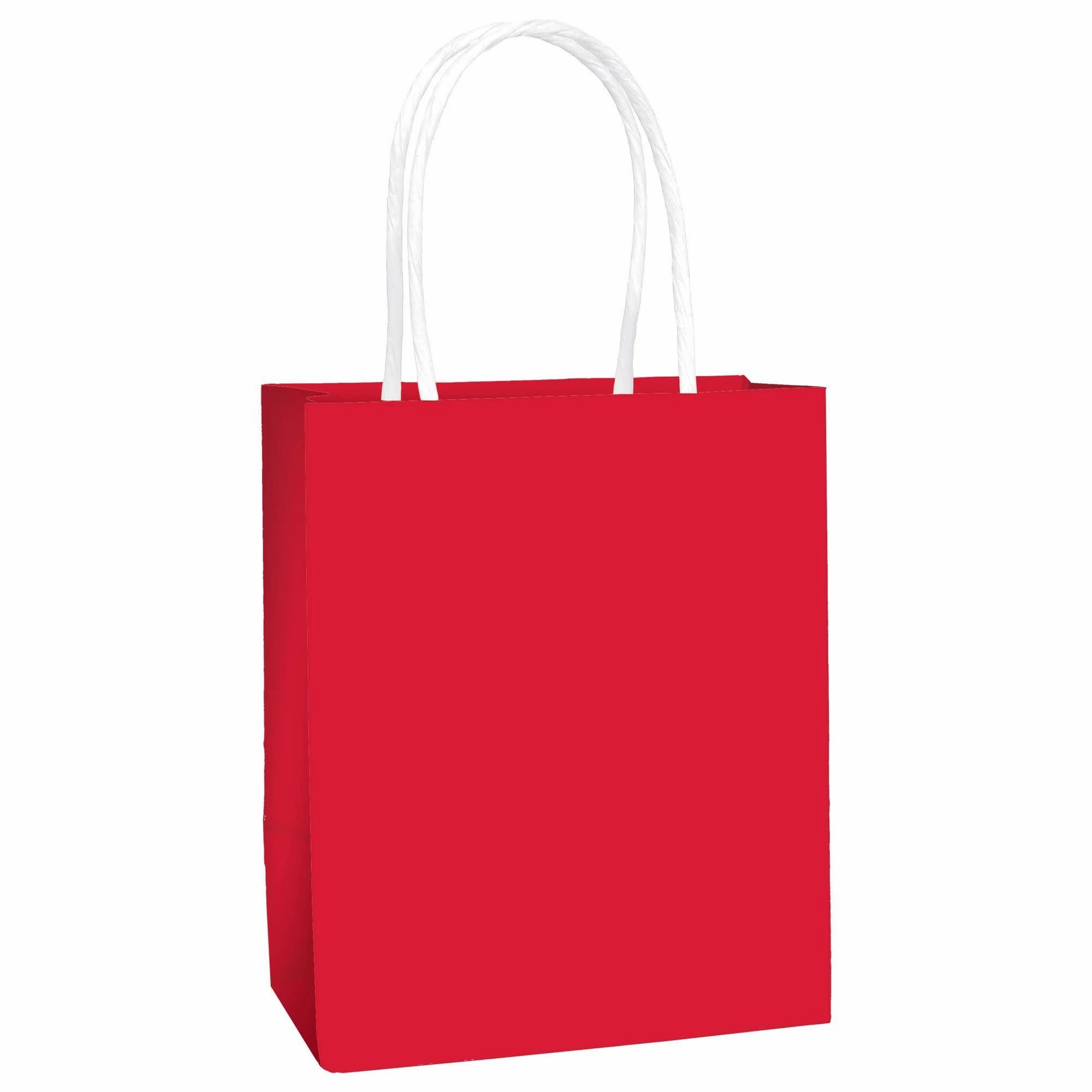 """5"""" Kraft Bag - Red"""