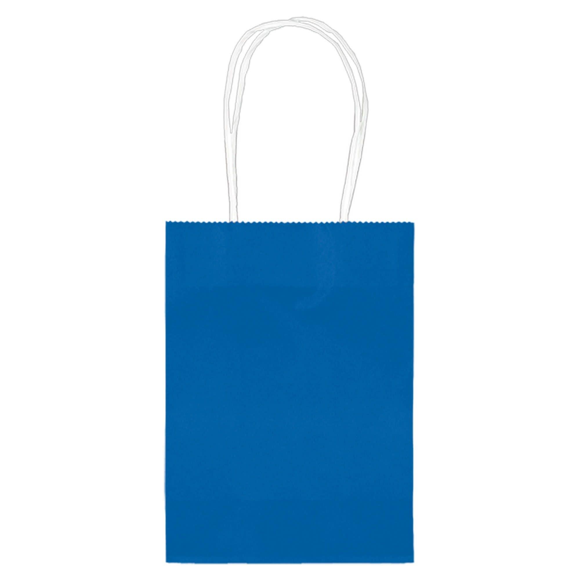 "5"" Kraft Bag - Bright Royal Blue"