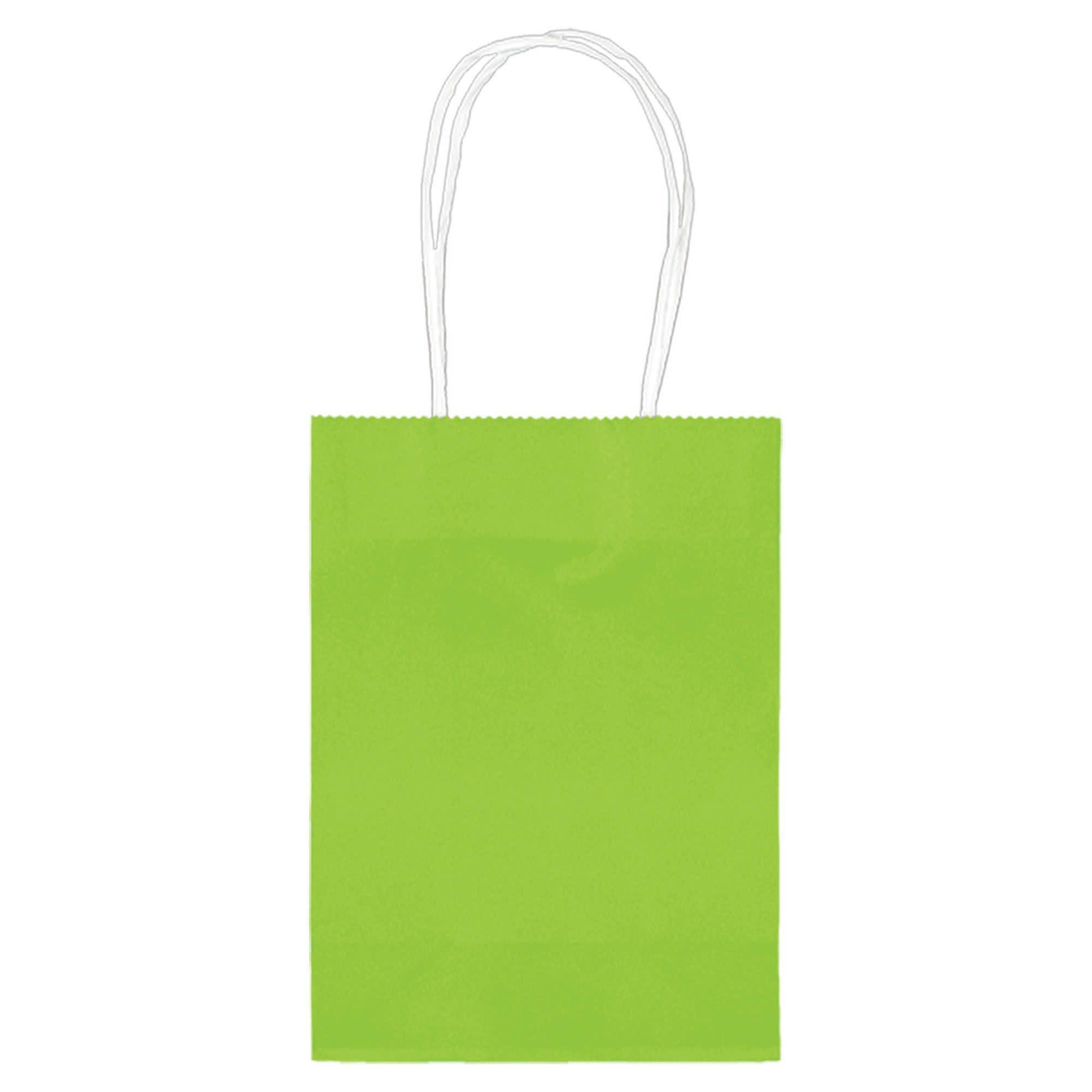 """5"""" Kraft Bag - Kiwi"""