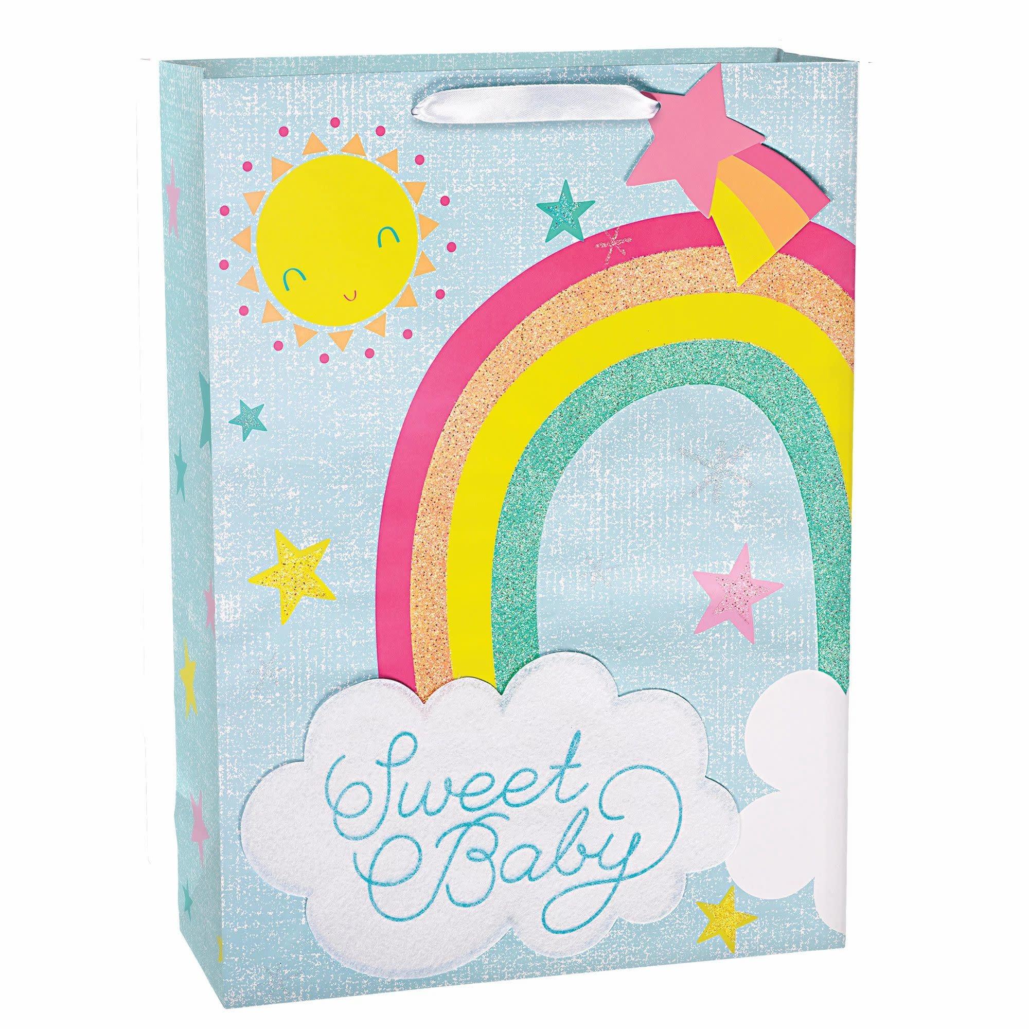 Rainbow Baby X-Large Bag W/Gift Tag