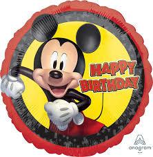 "18"" Mylar ""Happy Birthday"" Mickey Mouse Forever - #146"
