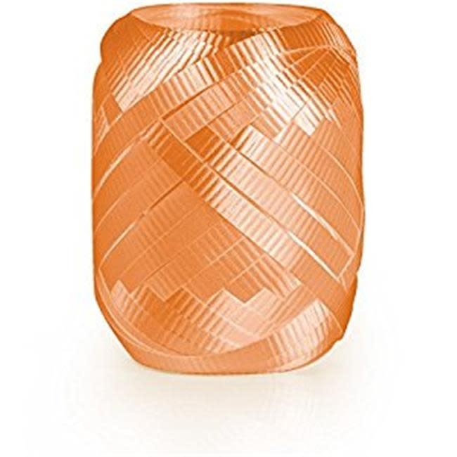 Crimped Curling Ribbon 3/16 Inch Wide X 66 Feet-Orange