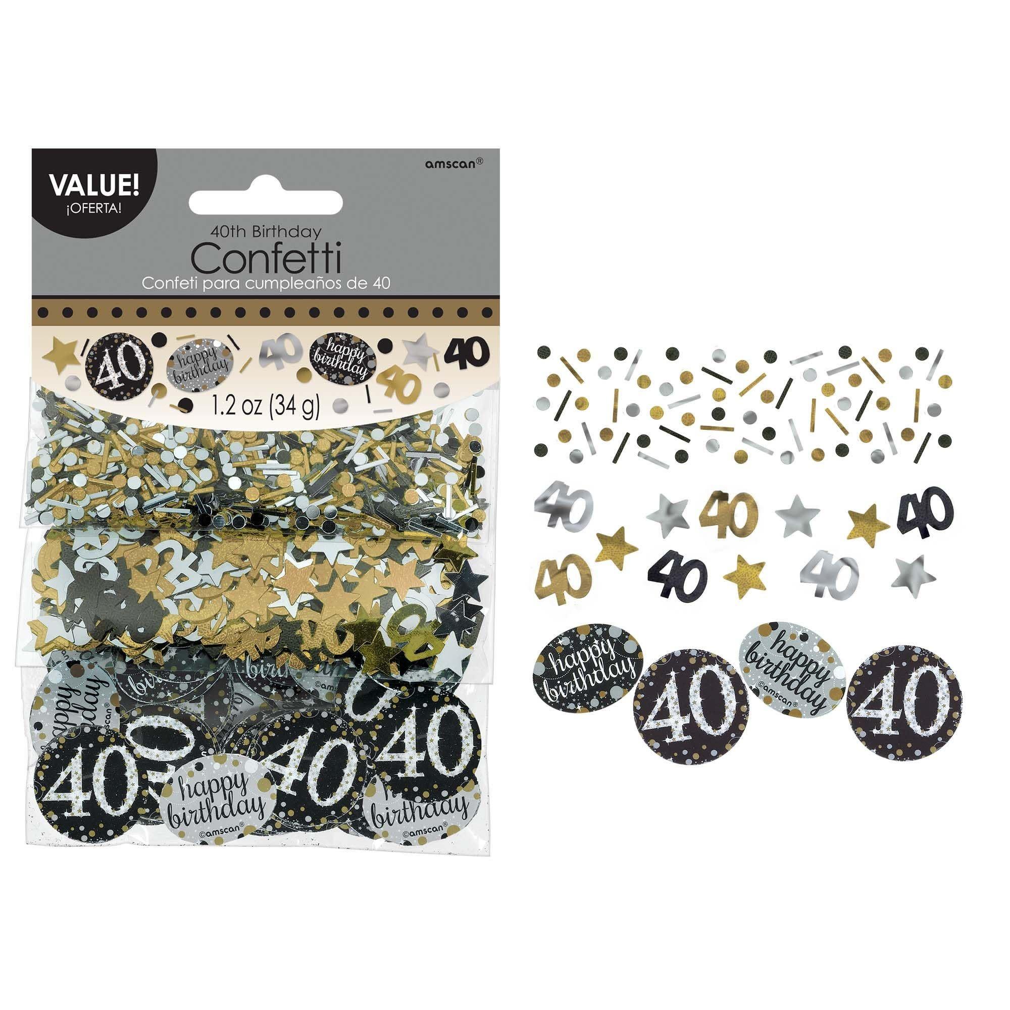 Sparkling Celebration 40 Confetti