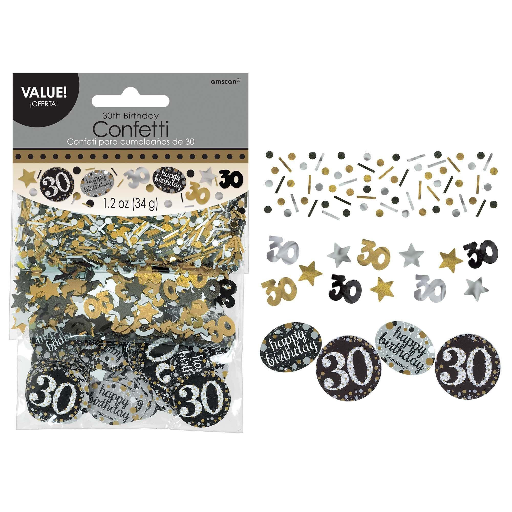 Sparkling Celebration 30 Confetti