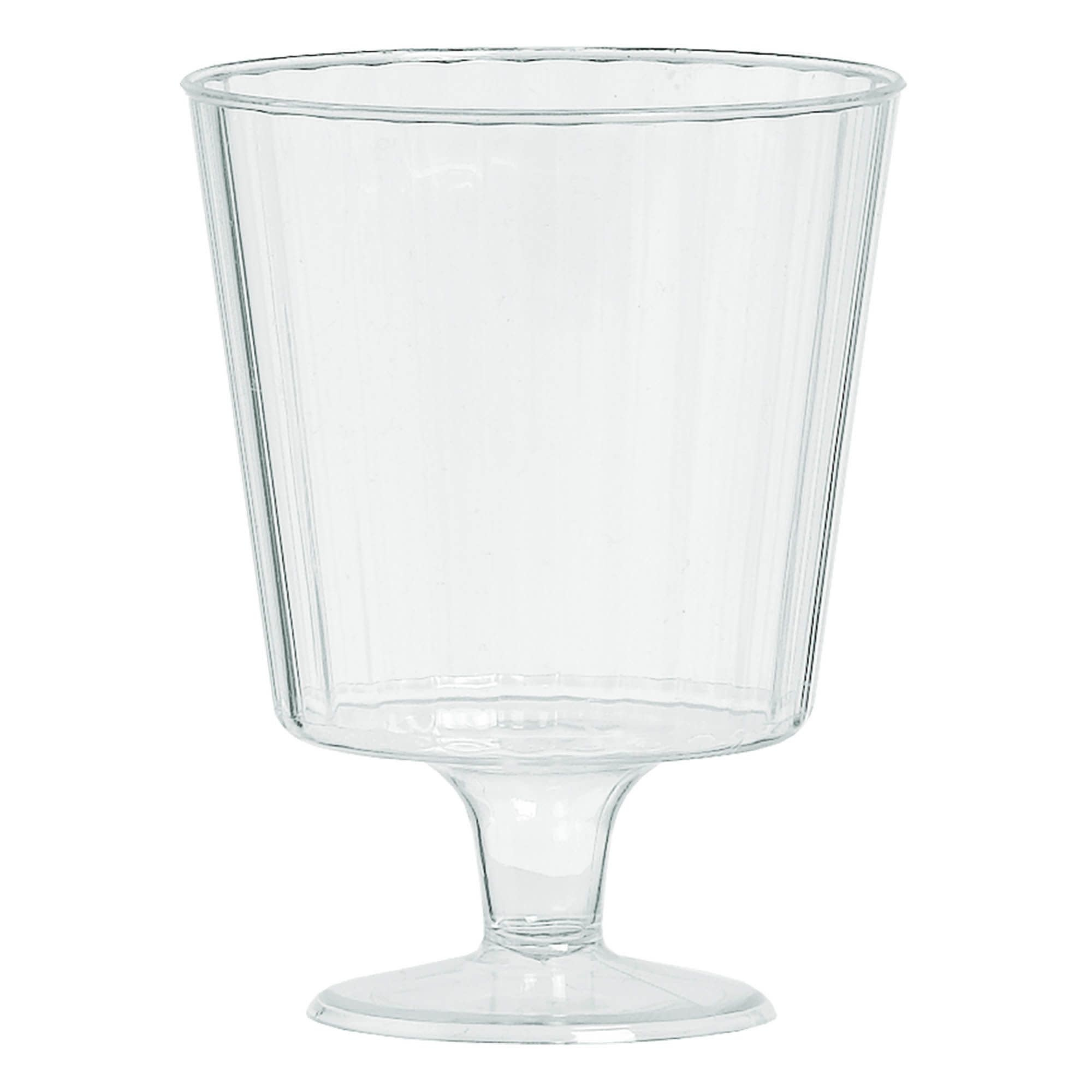 Clear Premium Quality Boxed Wine Glasses- 24 Per Package