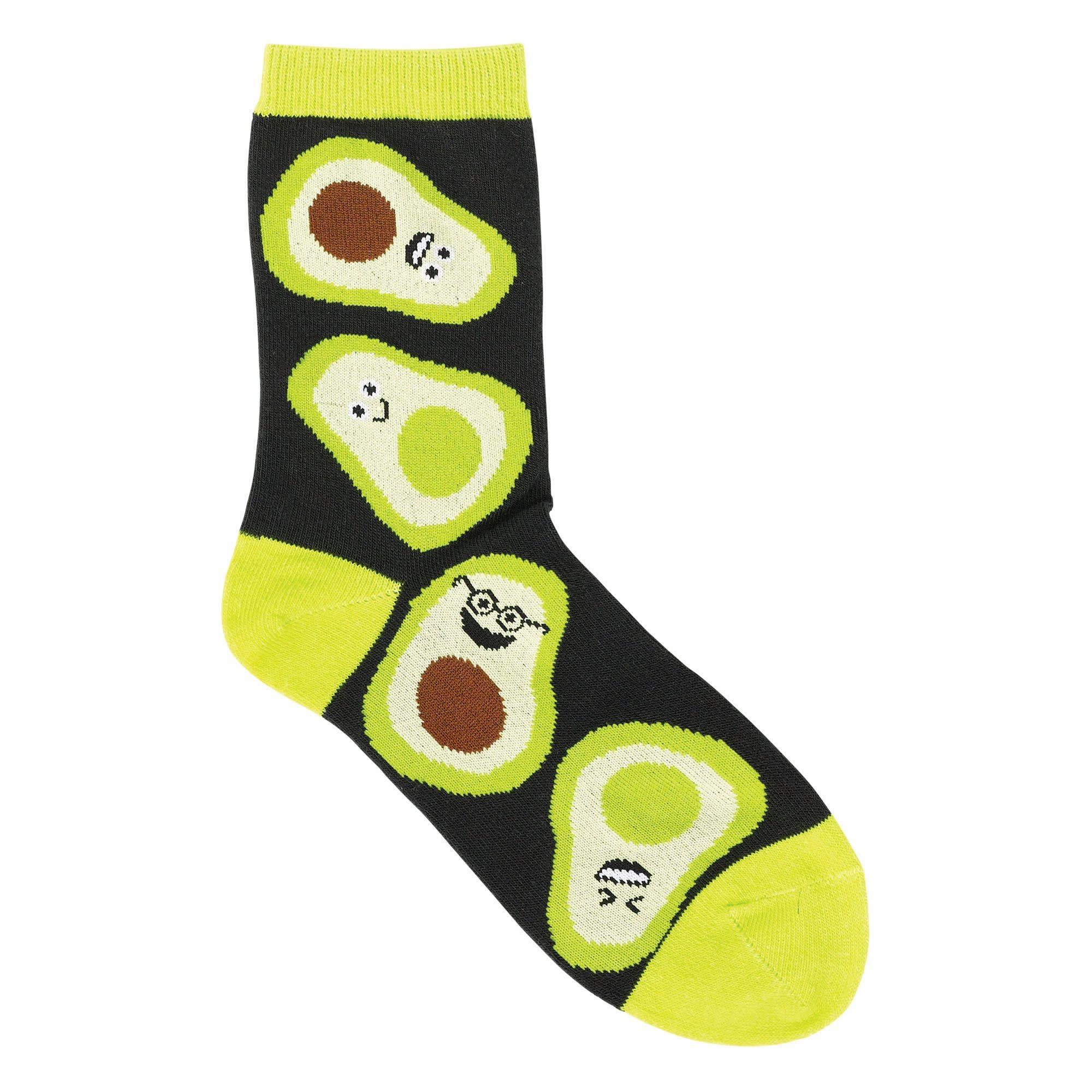 Avocado Crew Socks