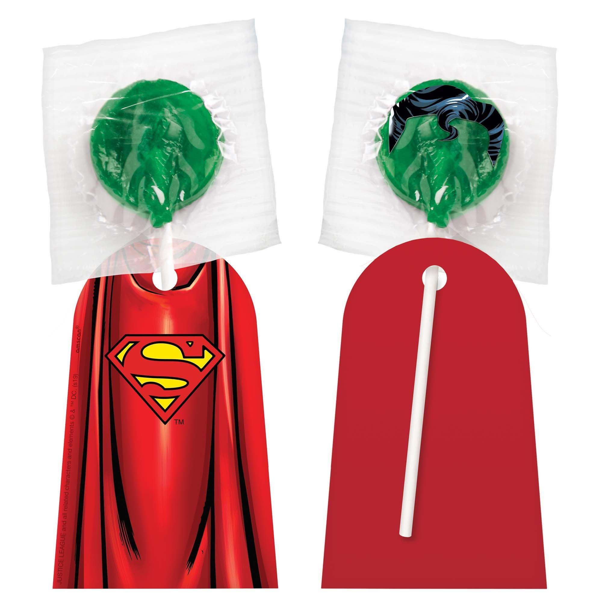Batman & Superman Lollipop Capes