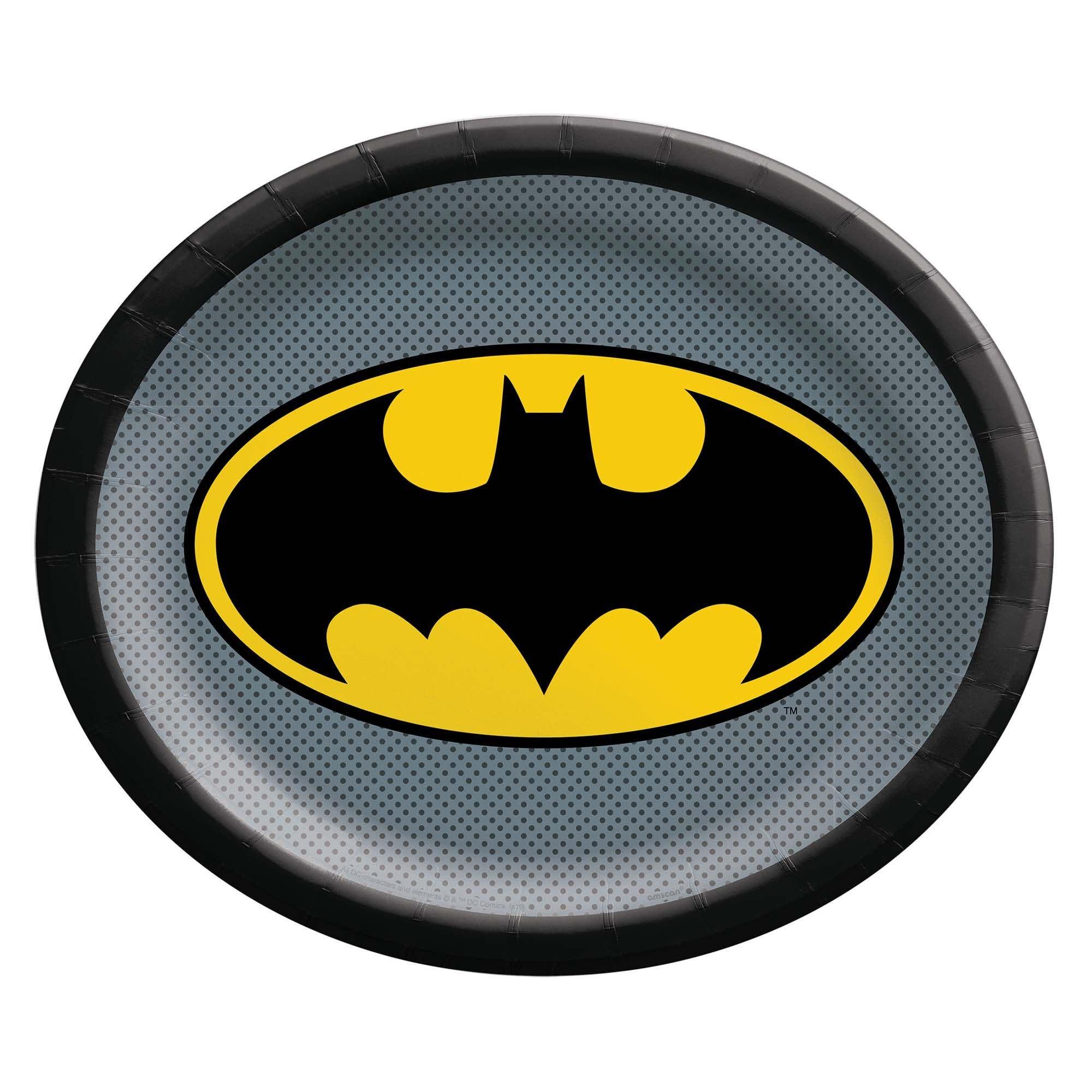 Batman™ Heroes Unite Oval Plate