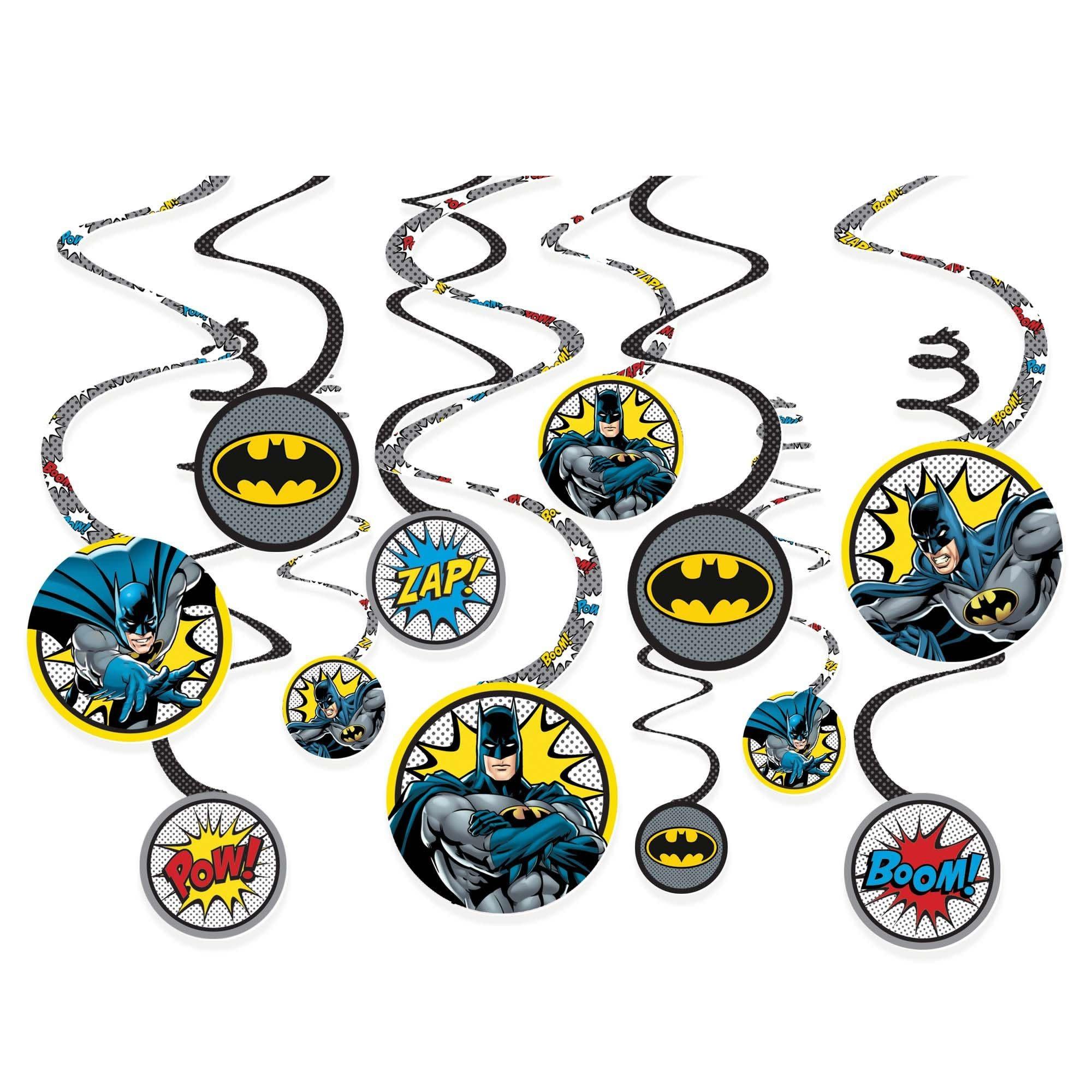 Batman™ Heroes Unite Spiral Decorations