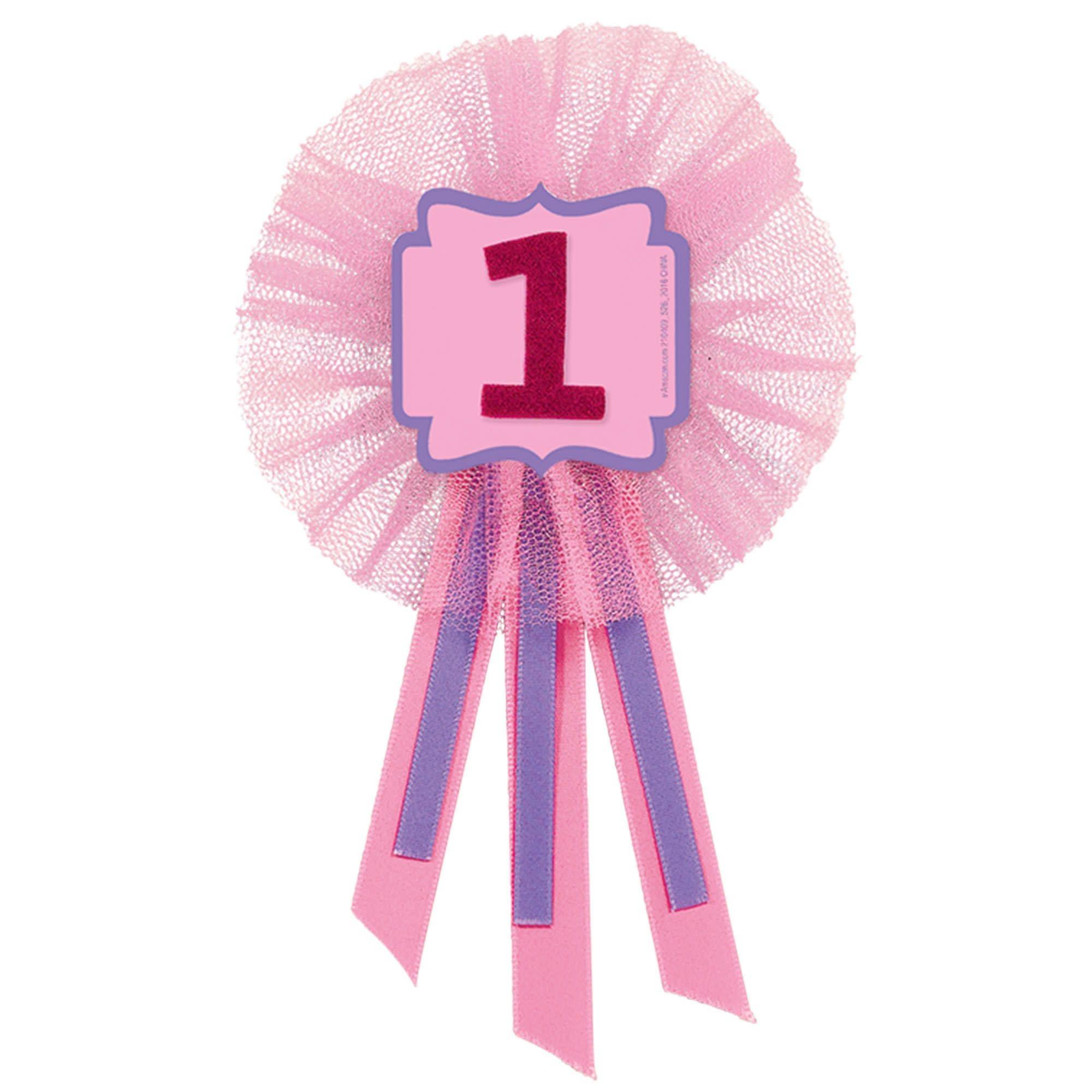 1st Birthday Girl Award Ribbon
