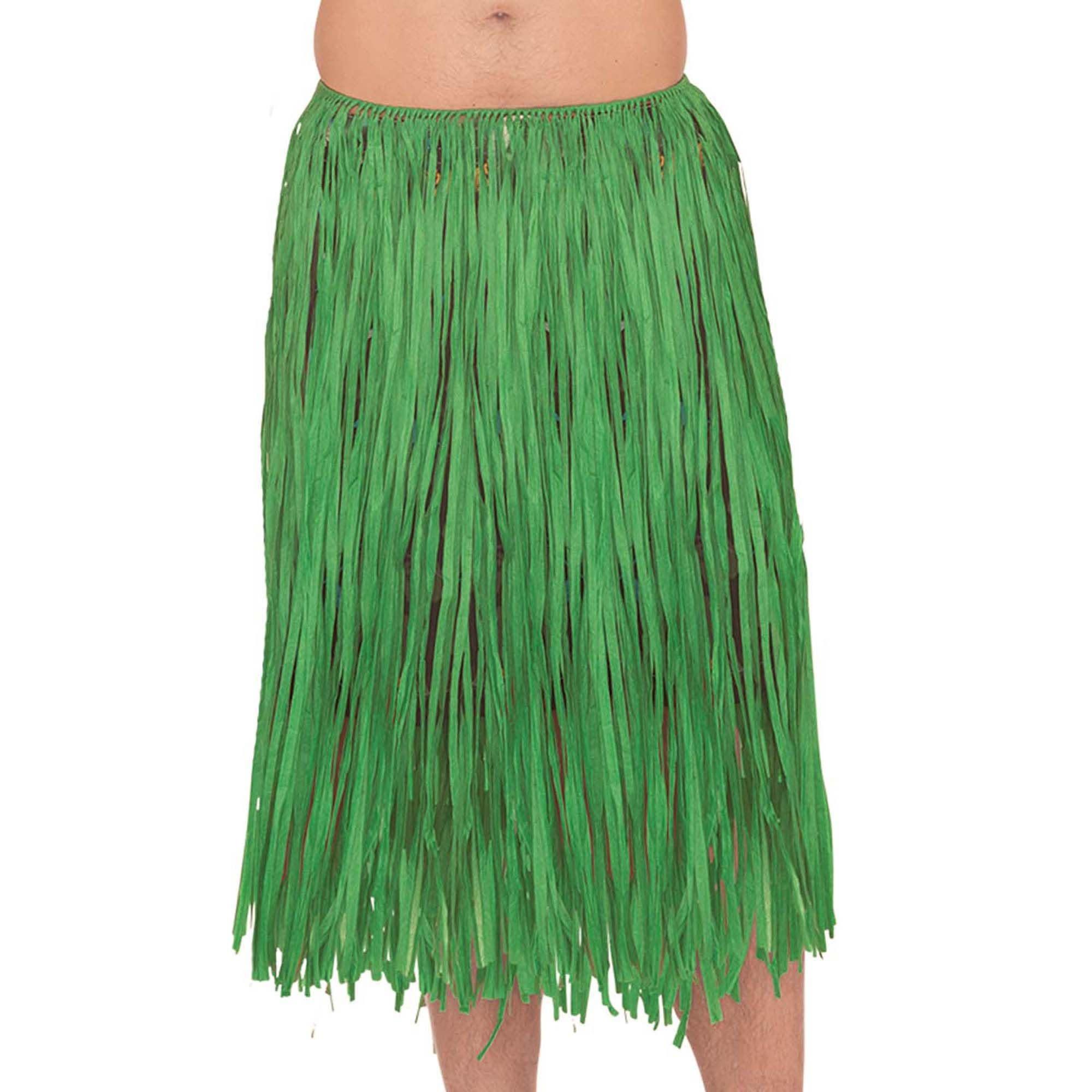 Adult XL Green Grass Skirt
