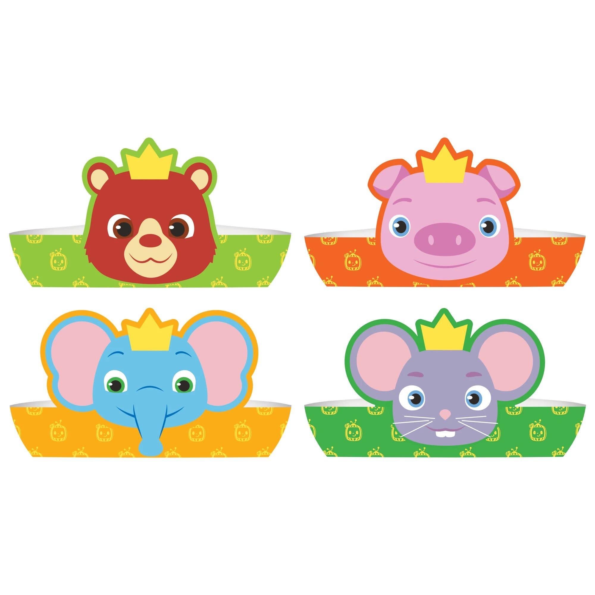 Cocomelon Paper Crowns