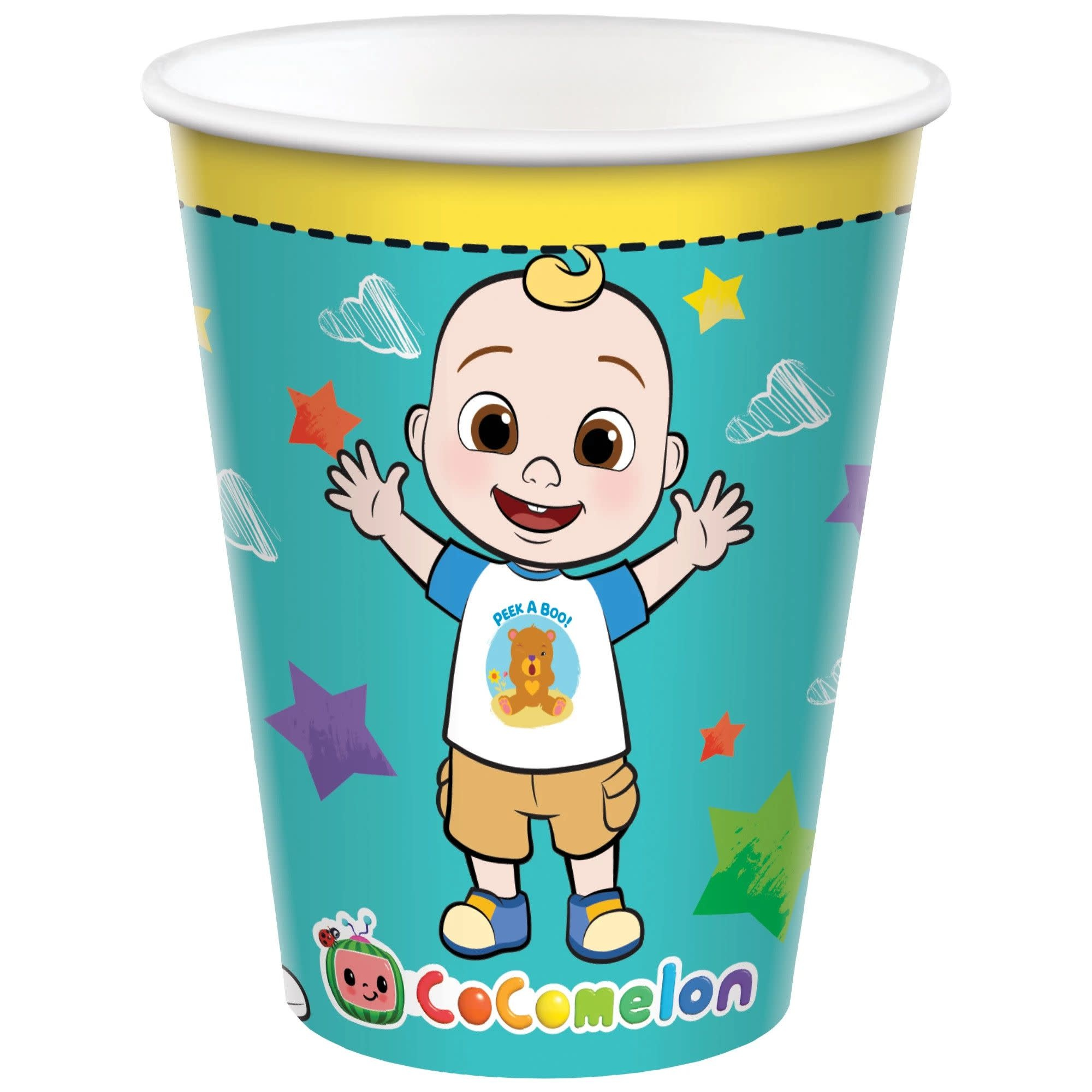 Cocomelon Cups, 9 Oz.