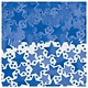 Blue Metallic Star Confetti