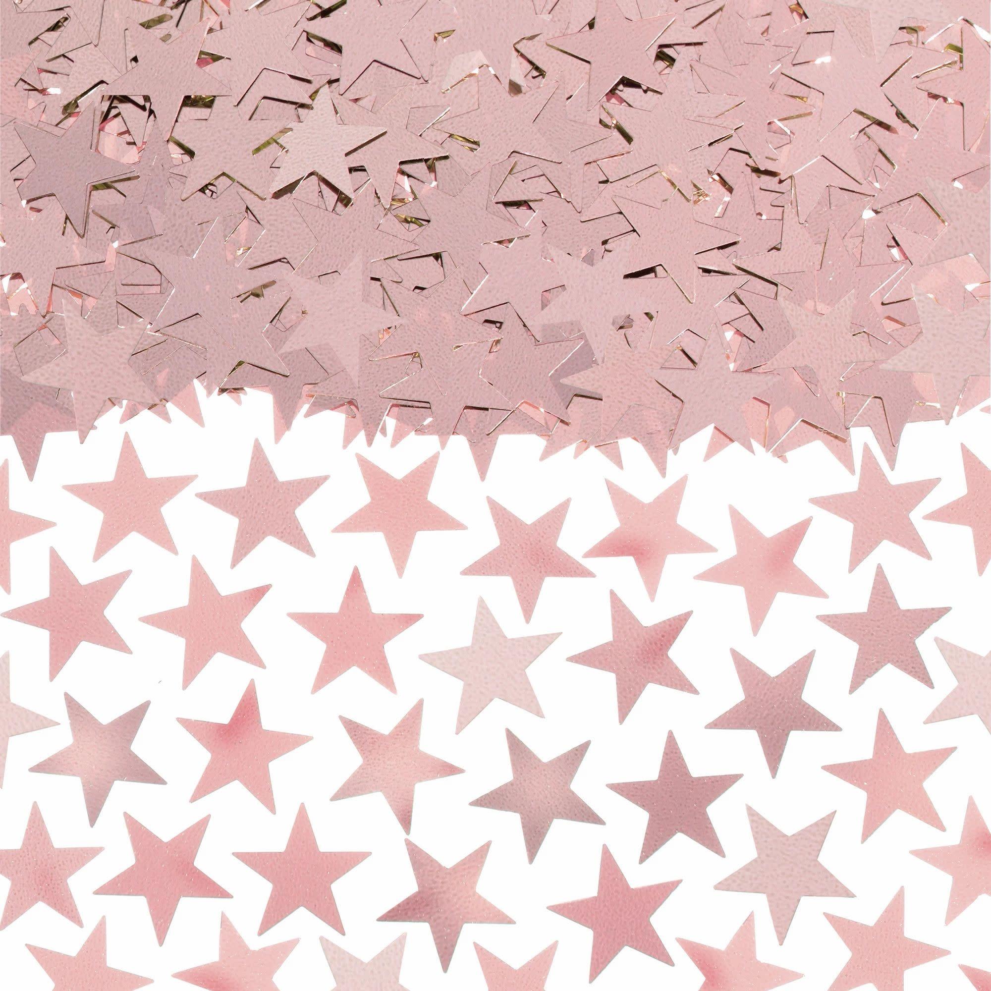 Rose Gold Star Confetti, 2 1/2 oz.