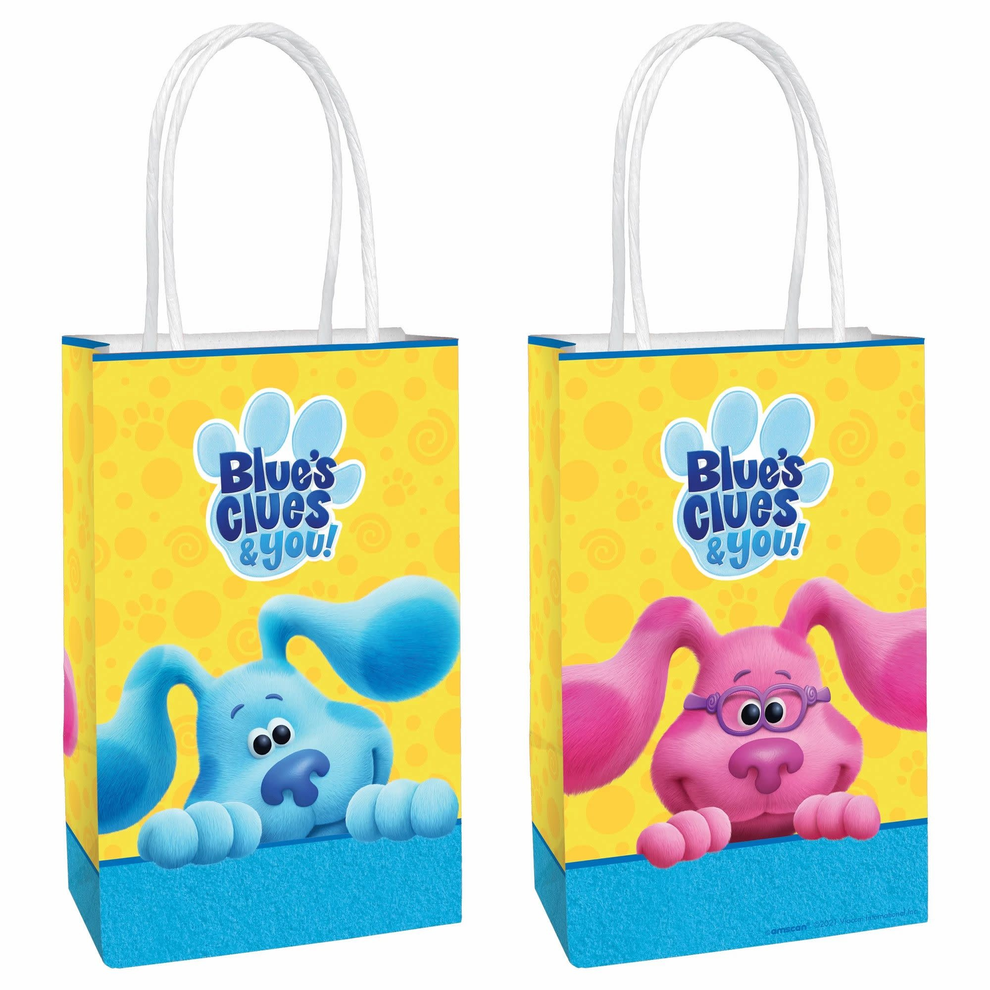 Blues Clues Printed Paper Kraft Bags