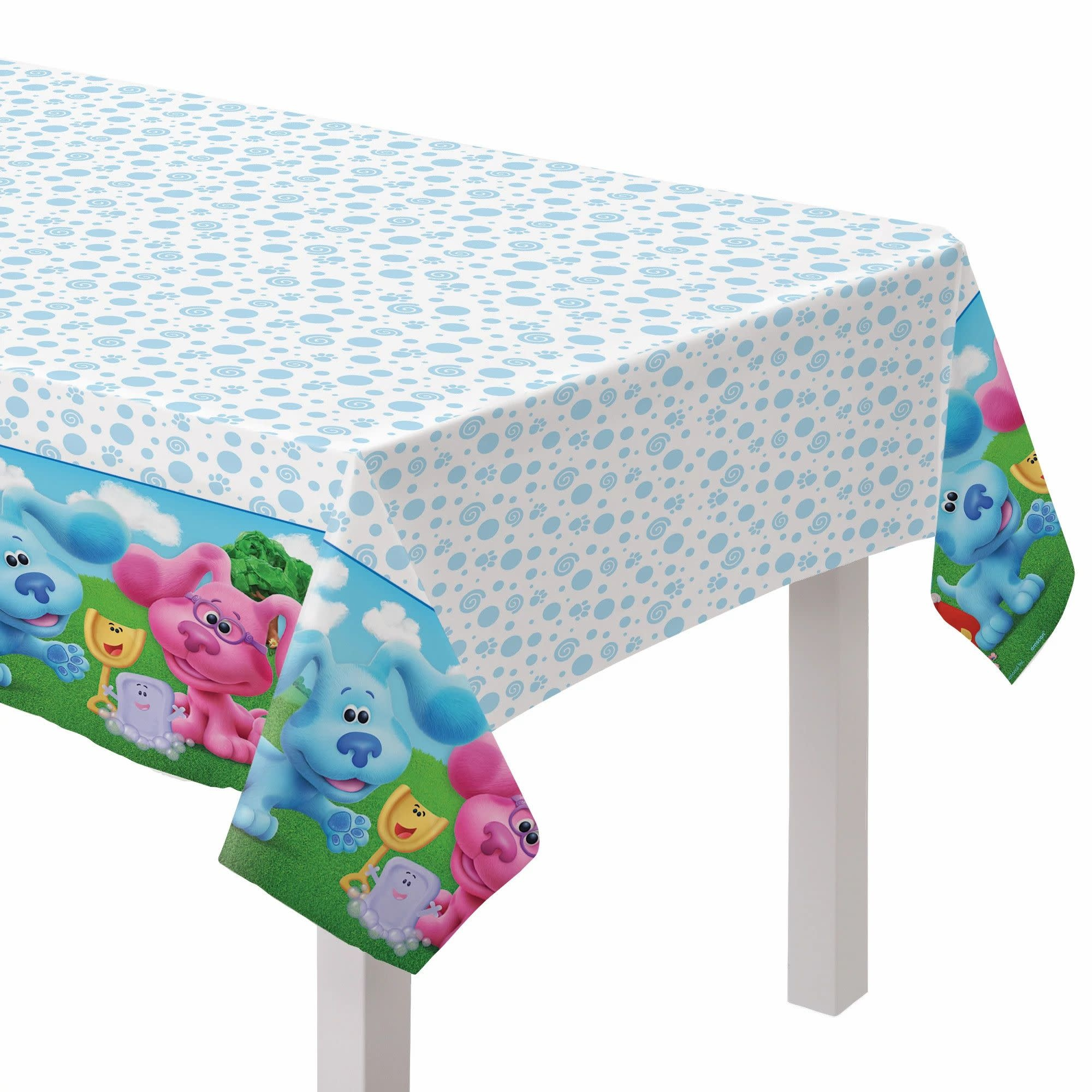 Blues Clues Paper Table Cover