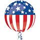 Patriotic Orbz Balloon