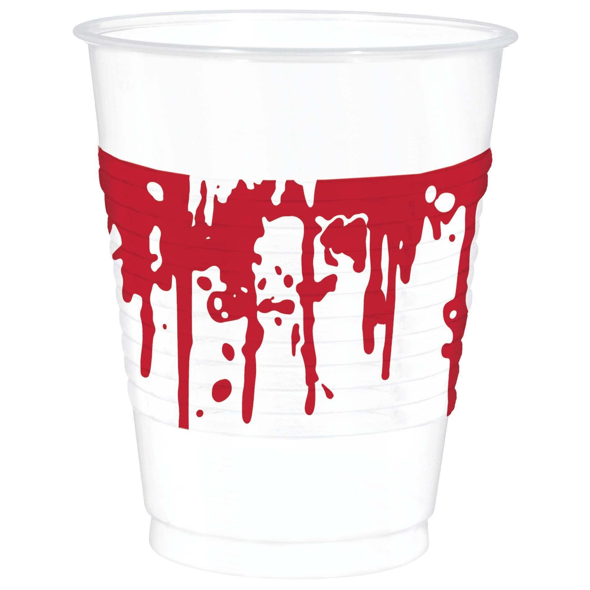 Blood Splattered Printed Cups