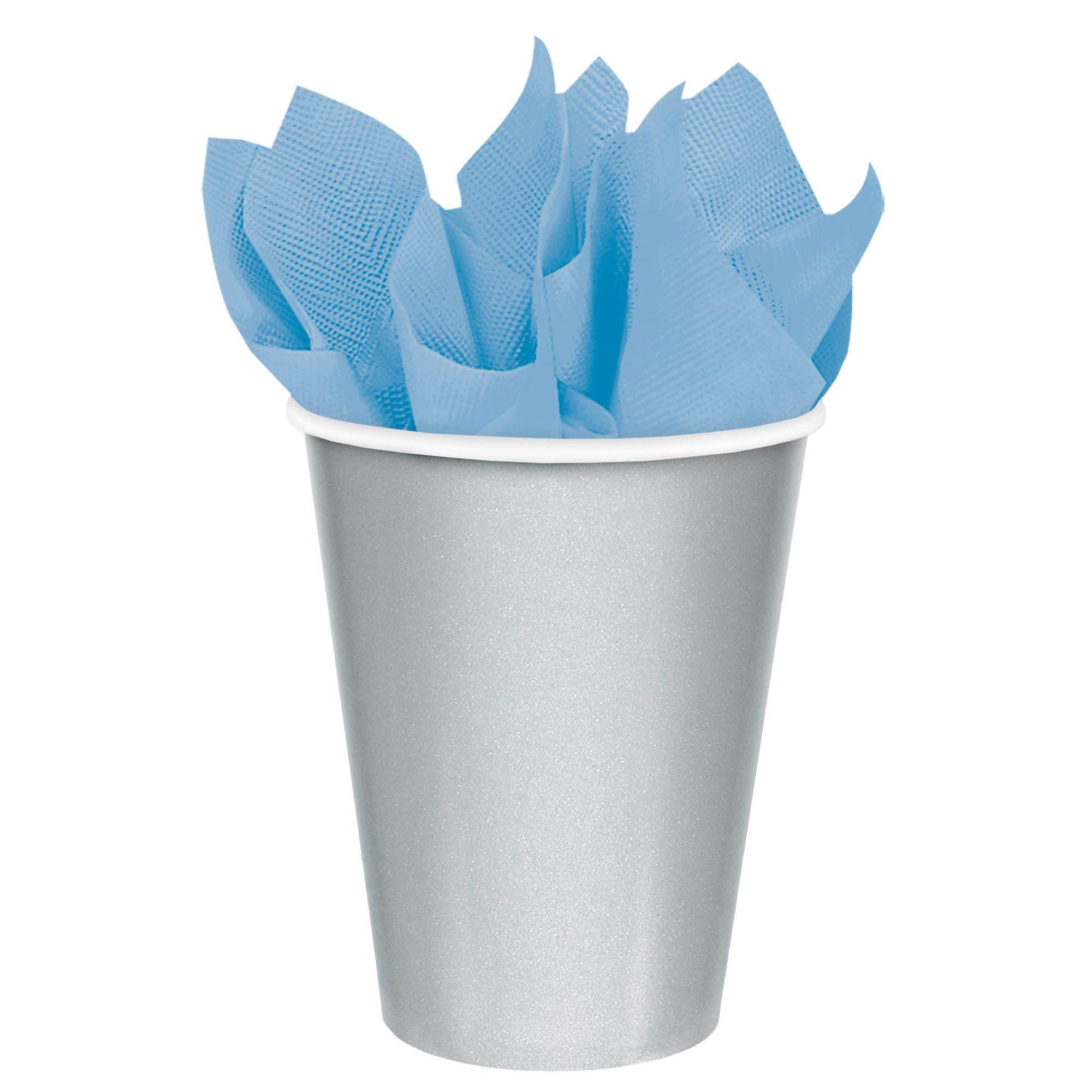 Silver Paper Cups, 9oz.