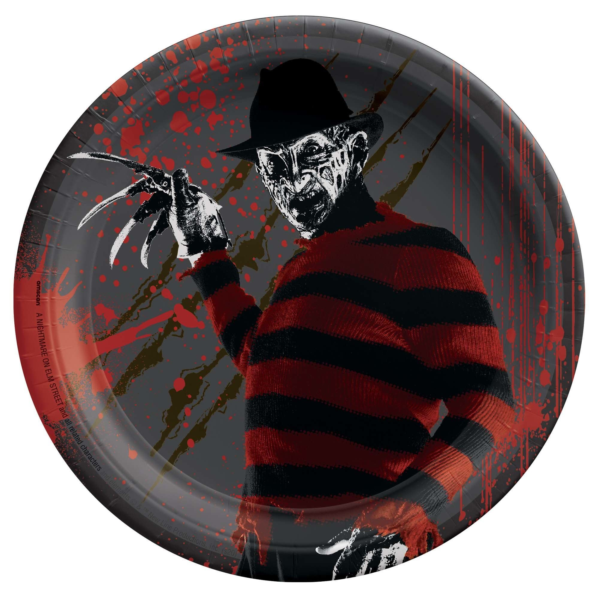 "A Nightmare On Elm Street™ Round Plate 7"""