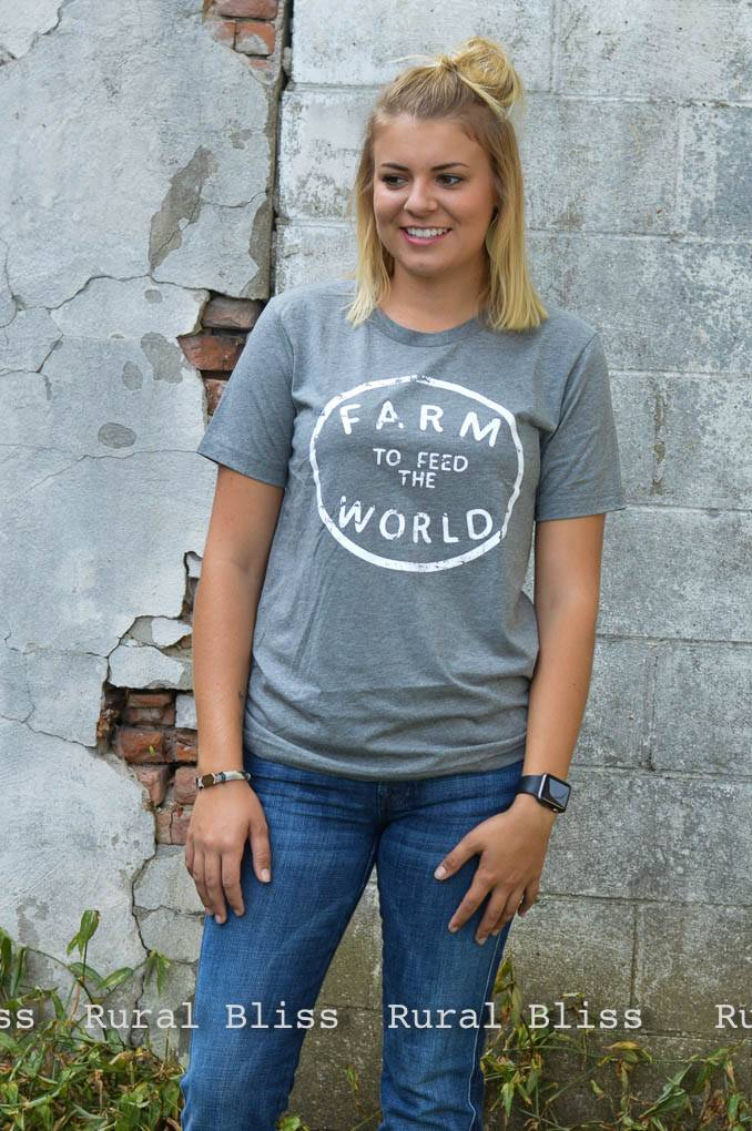 Feed The World Graphic Tee