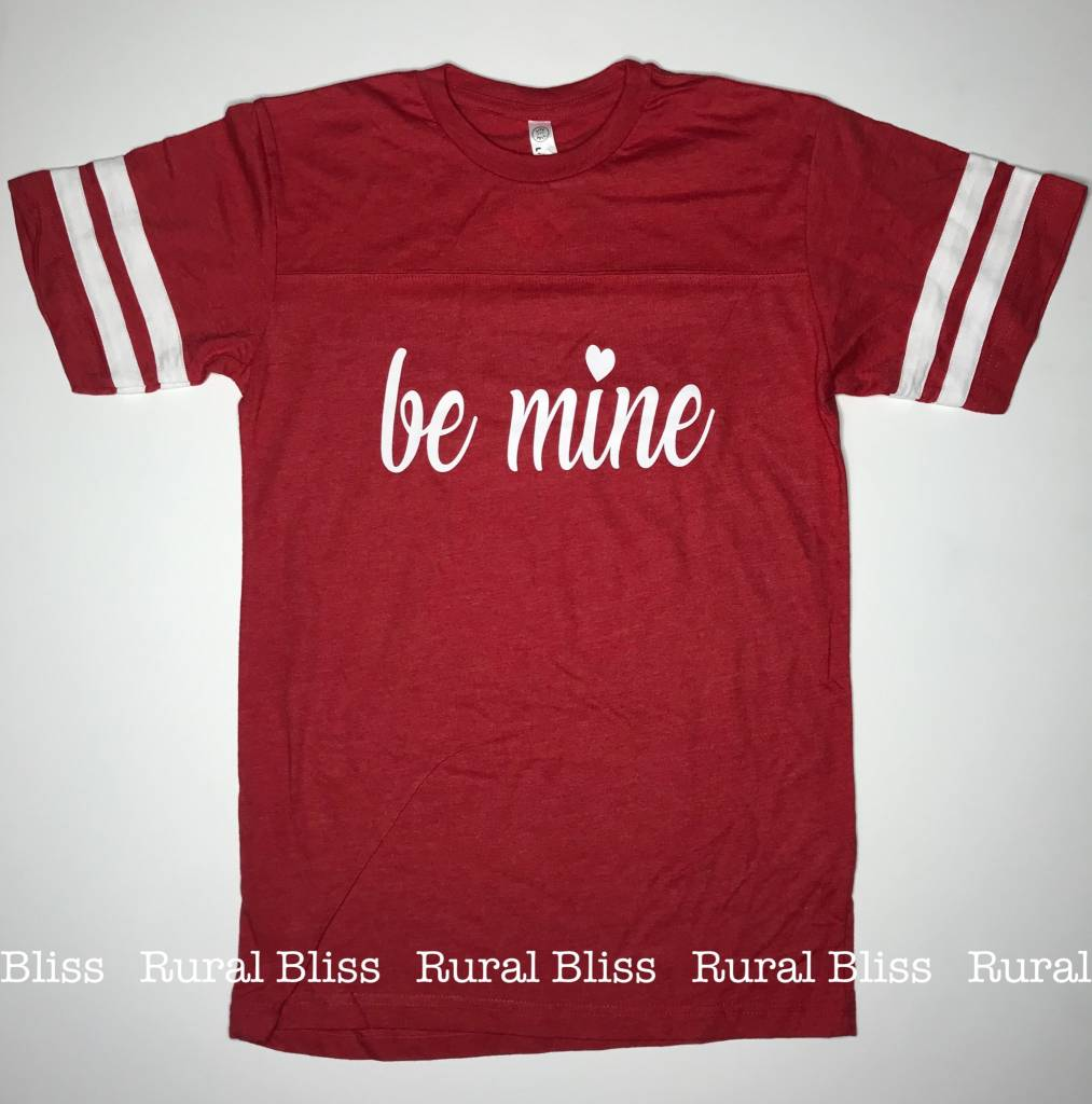 Be Mine Jersey Graphic Tee