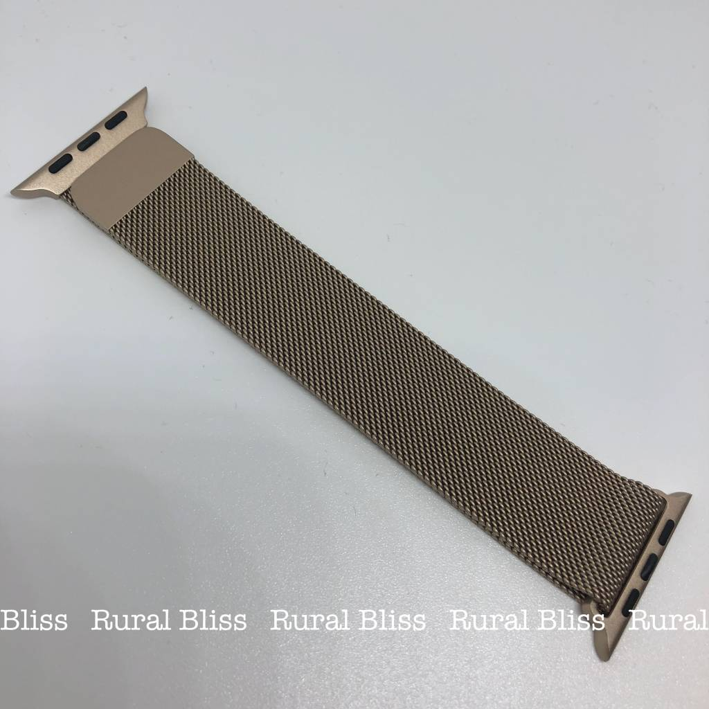 Watch Band 42 mm Gold Magnetic