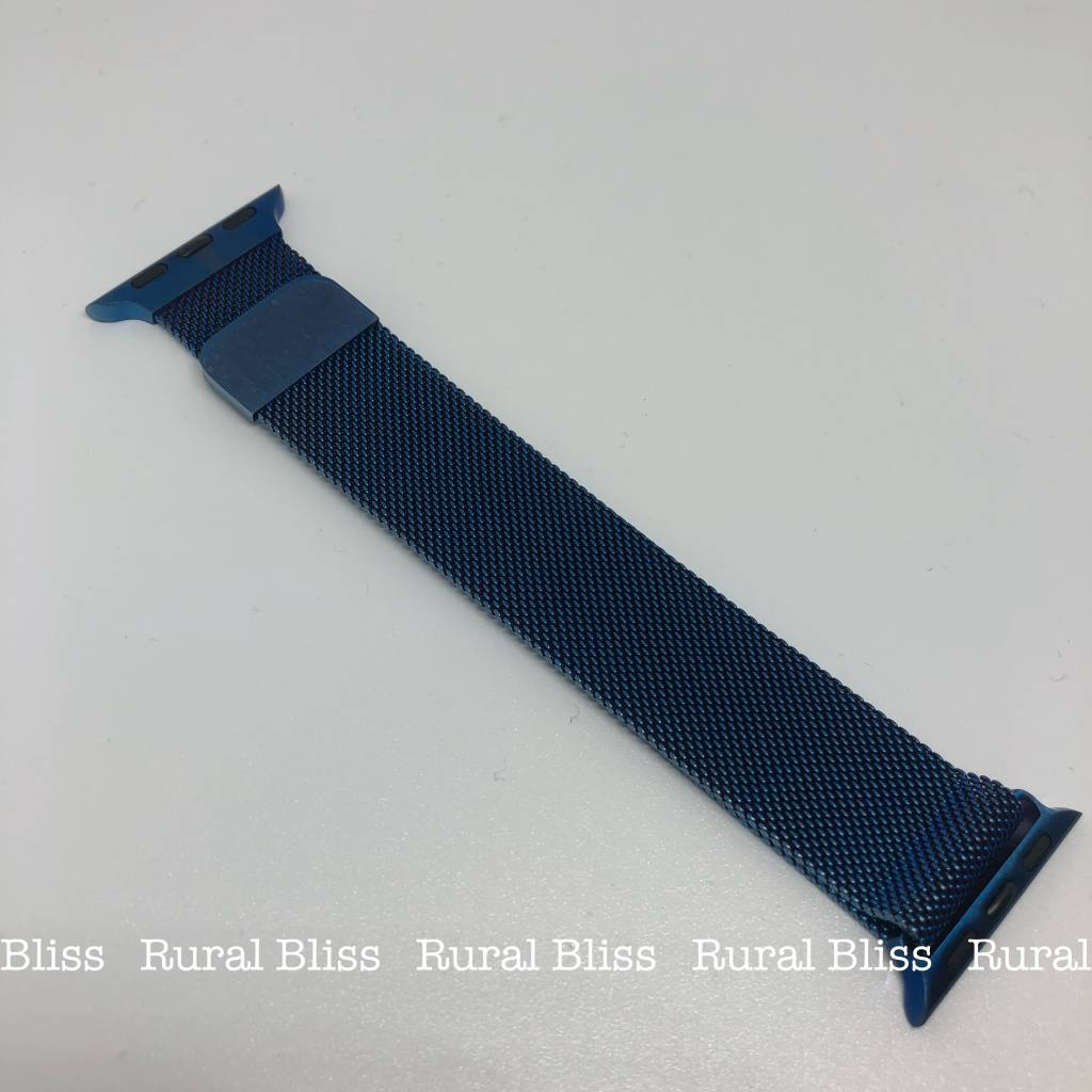 Watch Band 38 mm Blue Magnetic