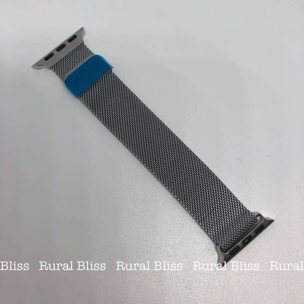 Watch Band 38 mm Silver Magnetic