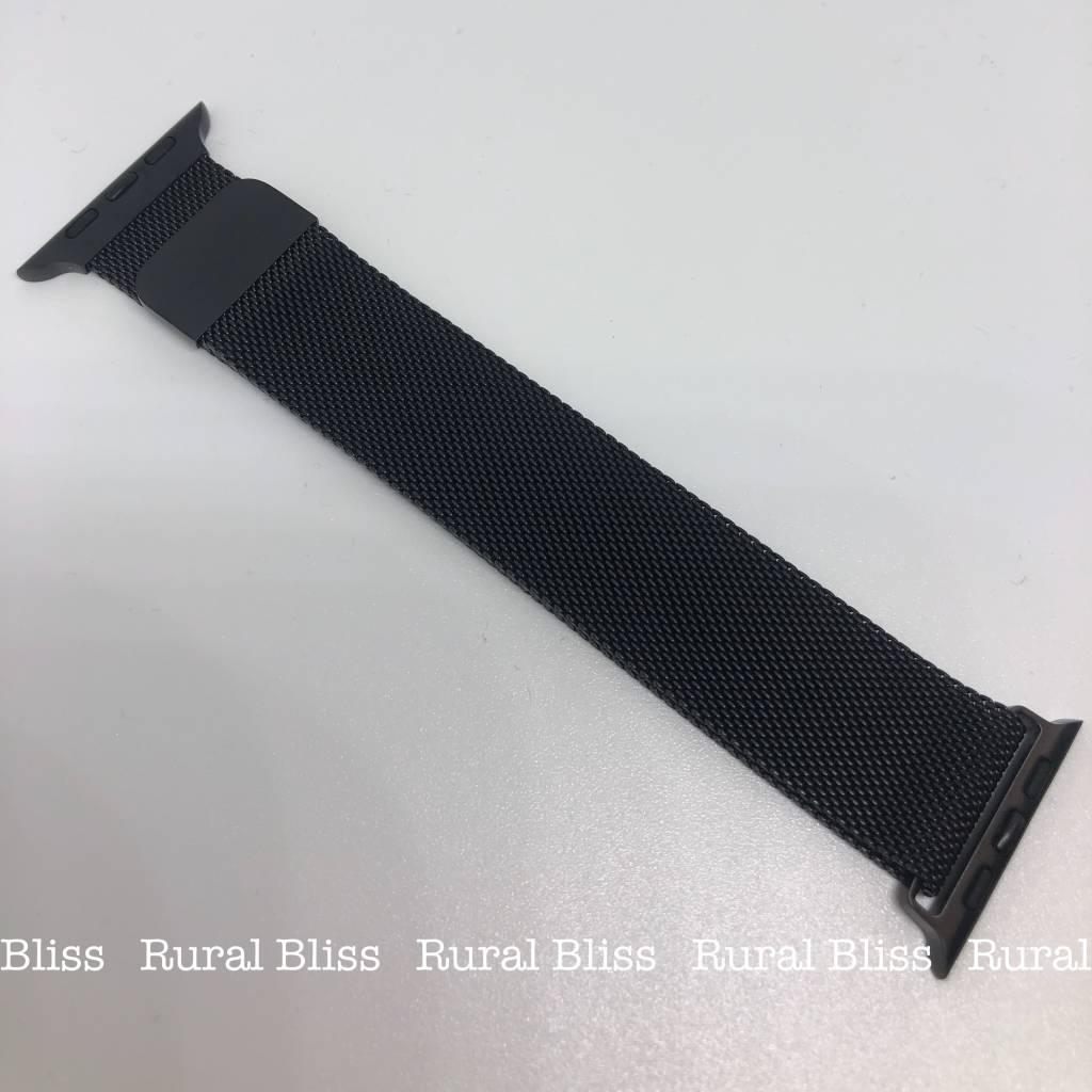 Watch Band 38 mm Black Magnetic
