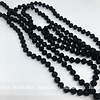 Must Have Big Beaded Necklace Matte Black