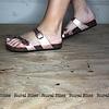 Adventure Awaits Sandals Rose Gold
