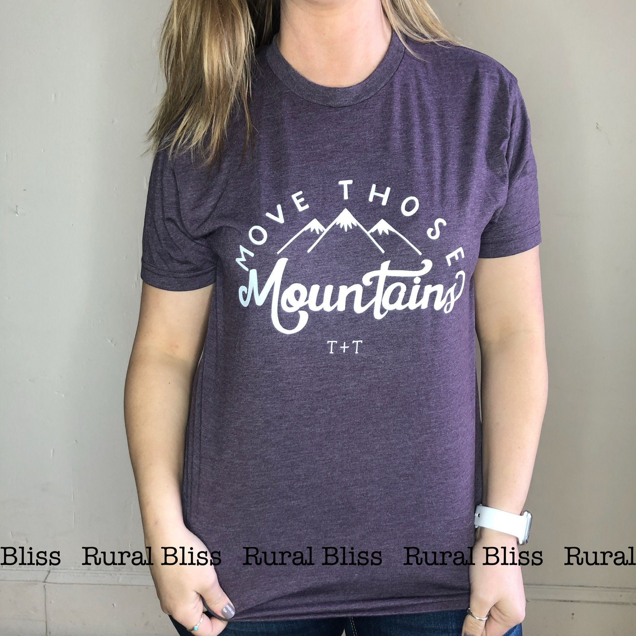 Move Mountains Graphic Tee