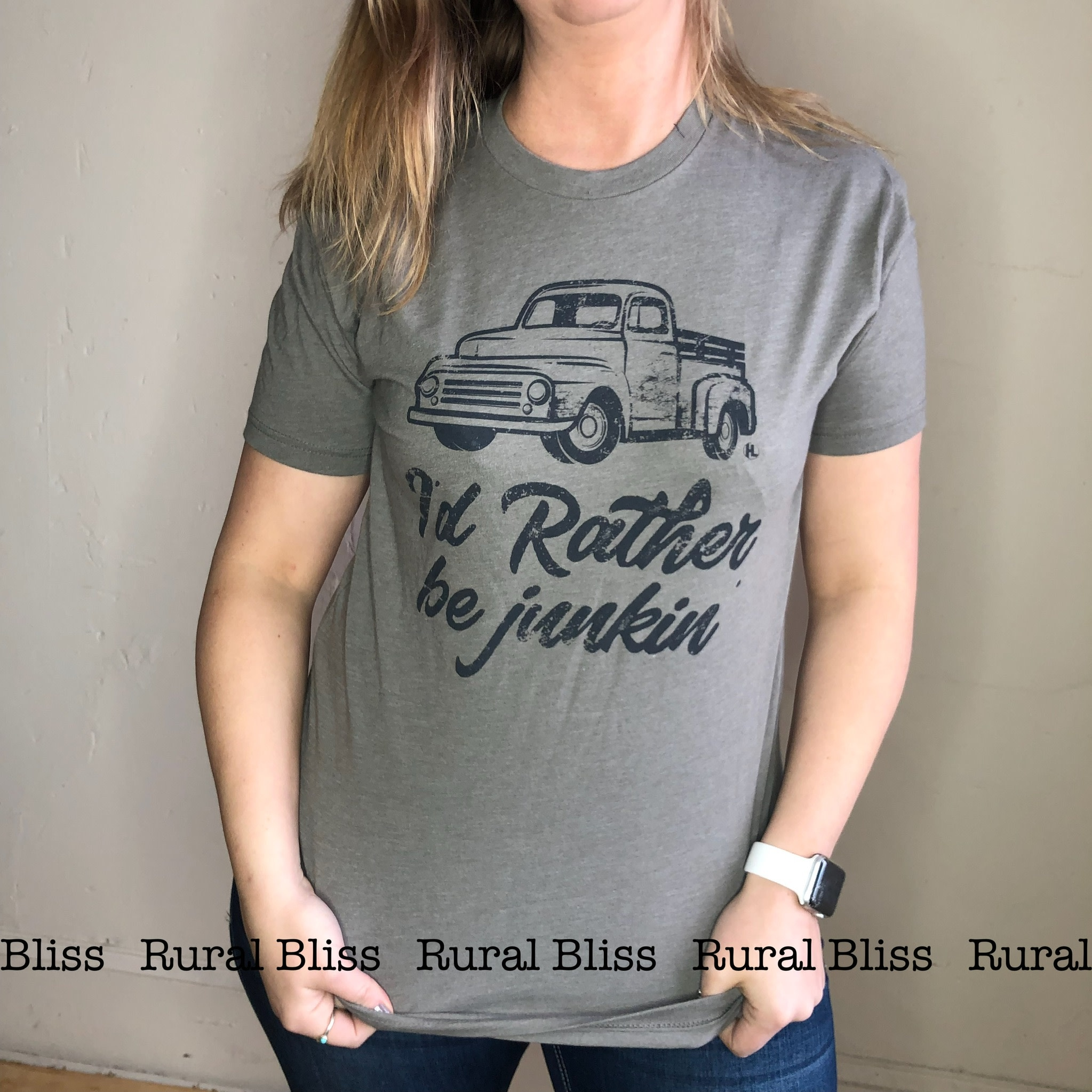 Rather be Junkin' Graphic Tee