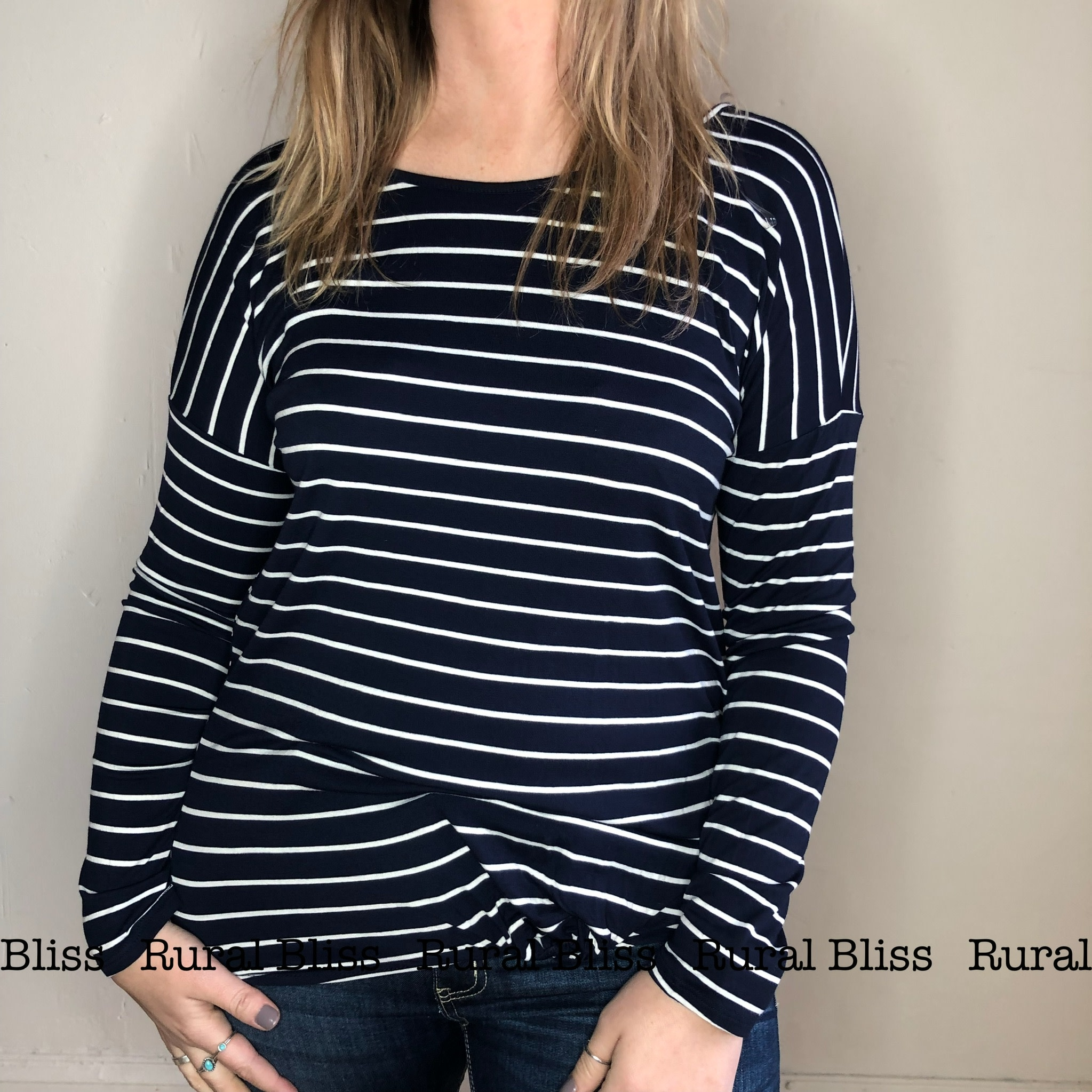 Knot Today Top Navy