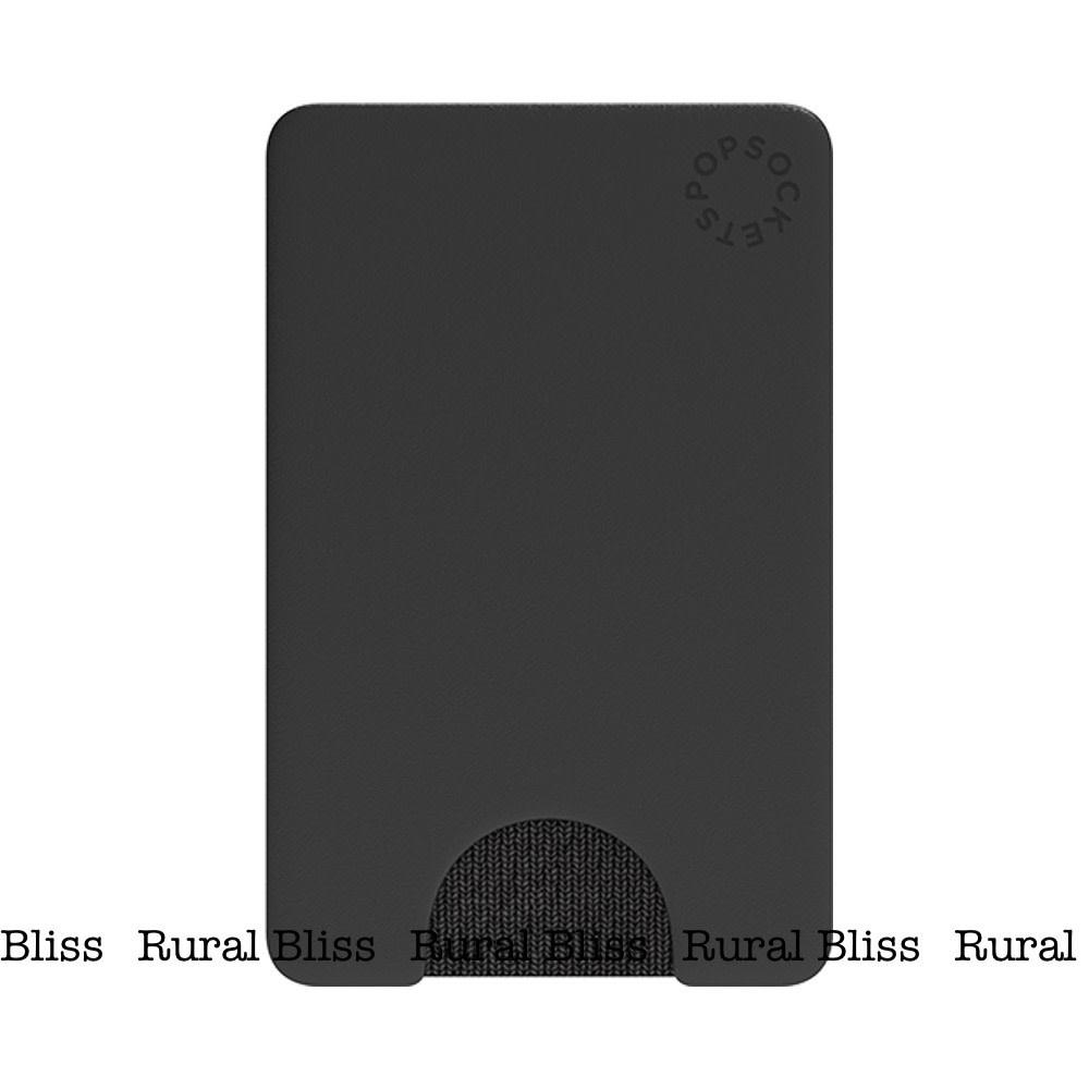 Popsocket: Black Wallet