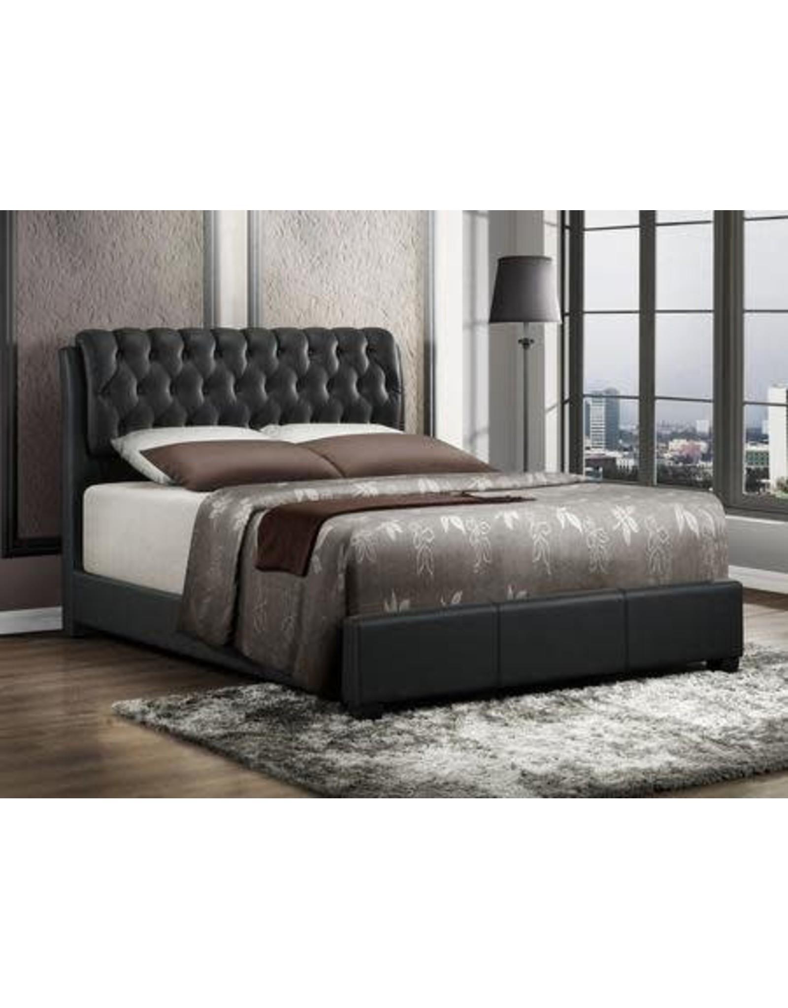 2955 Queen Bed Black
