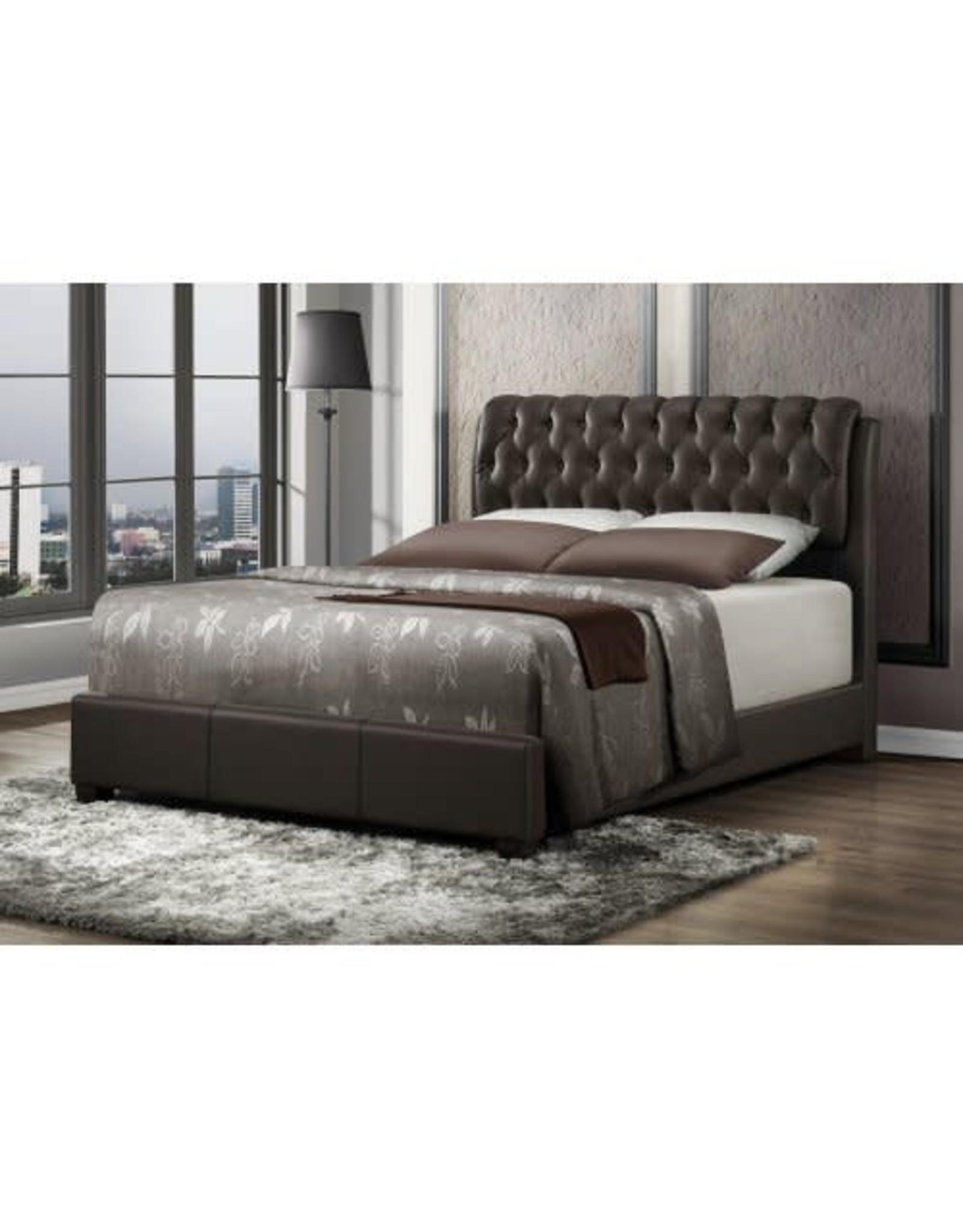 2955 Queen Bed Brown
