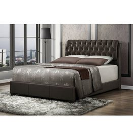 2956  King Bed Brown