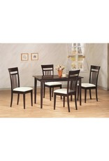 5003-CP 5pc Dinette - Table/4 chairs