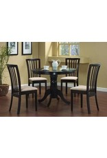 5011 5pc Dinette Table/4chairs