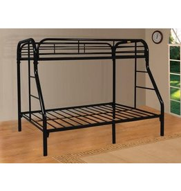 9701-BK Twin/Full Bunkbed