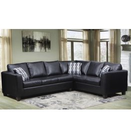 4182 Sectional Black